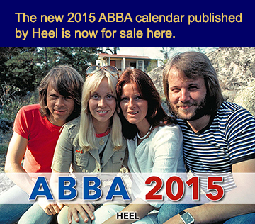 Buy the 2015 ABBA Calendar here