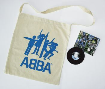 The ABBA cotton bag and the CD