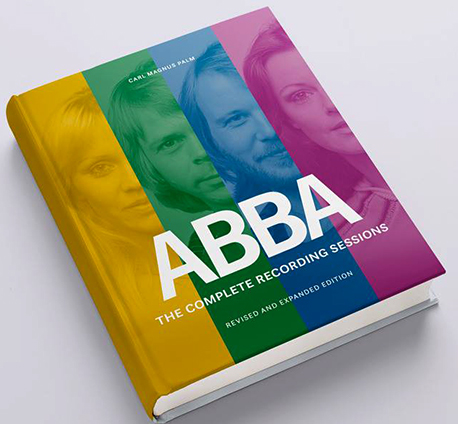 Proposed cover of the updated and expanded edition of ABBA The Complete Recording Sessions