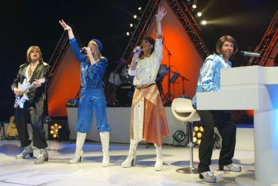 Cover band ABBA Mania