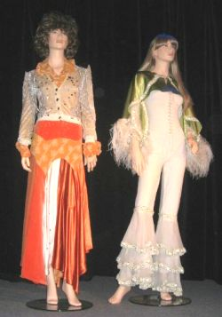 Costumes for the ABBA museum