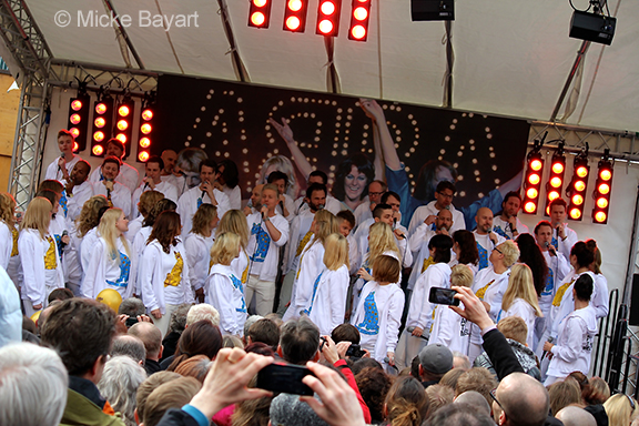 ABBA the Museum choir, April 6, 2014