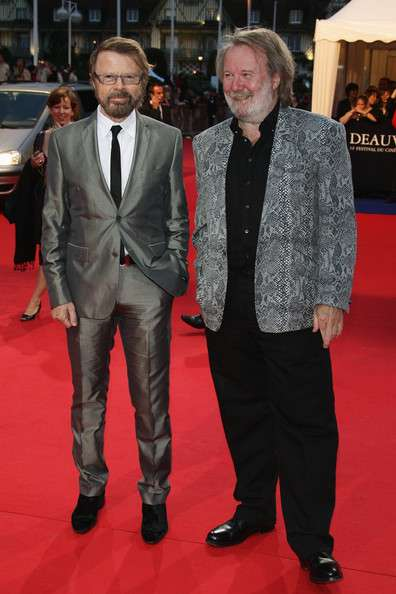 Björn and Benny at the Deauville Festival
