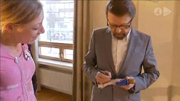 Kristina Från Duvemåla se estrena en Finlandia - Entrevista con Björn y Benny