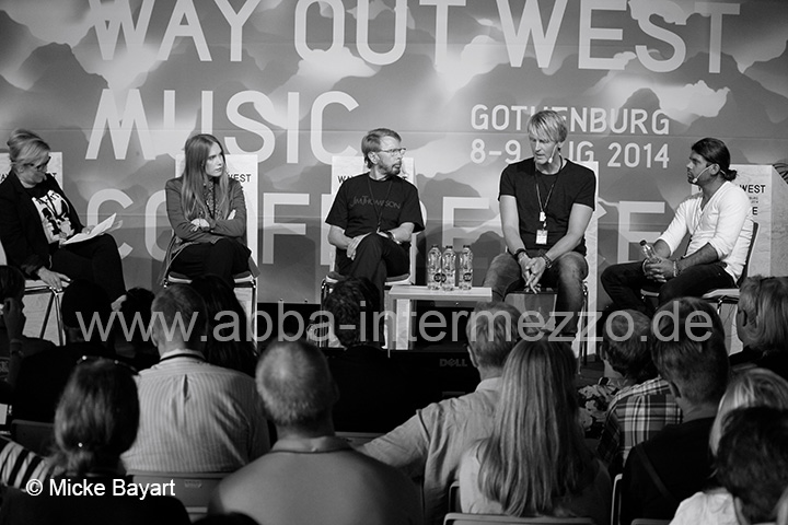 Bj�rn at the Way Out West Music Conference, August 2014