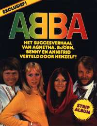 ABBA Comic strip book