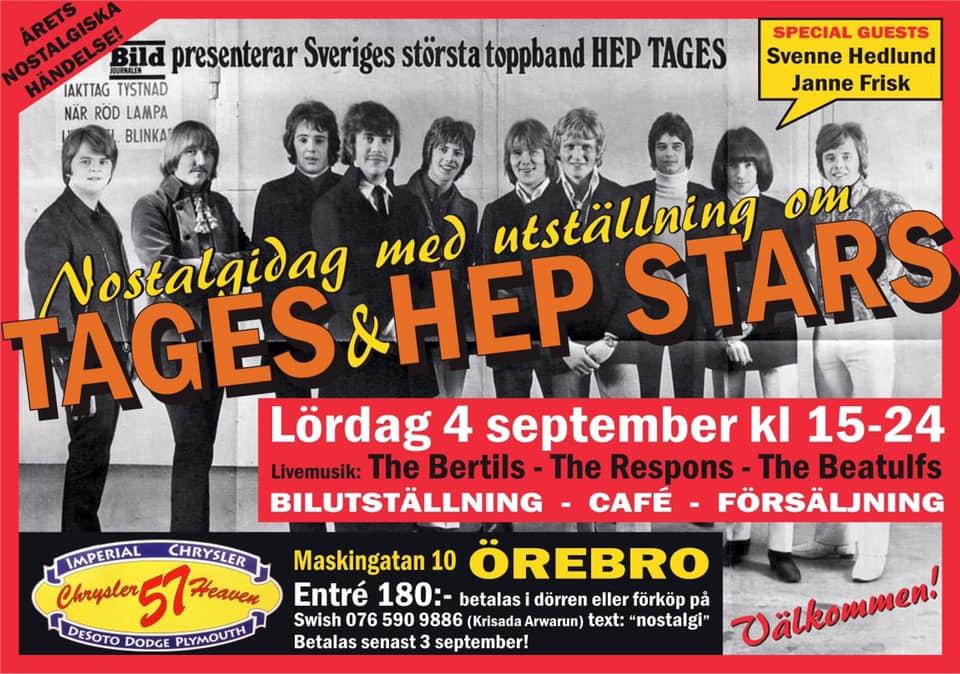 Ausstellung Hep Stars & Tages