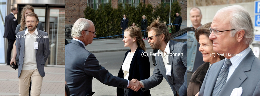 Björn and the King of Sweden 4 May 2013
