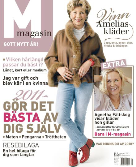 M magasin with Agnetha