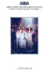 Super Trouper Melody Book
