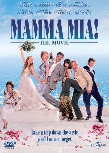 Mamma Mia! The Movie DVD