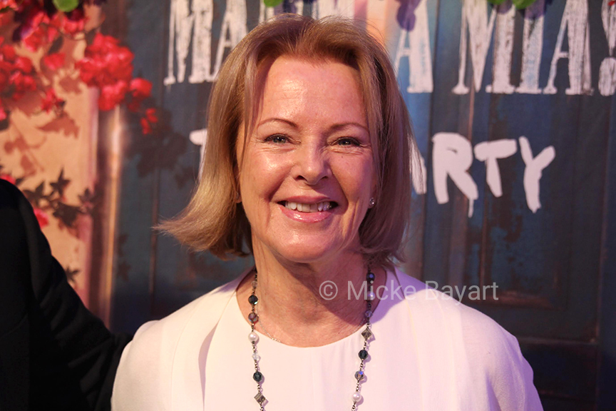 Frida bei Mamma Mia! The Party