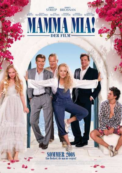 German Mamma Mia! movie poster