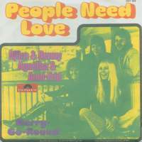 People Need Love single cover