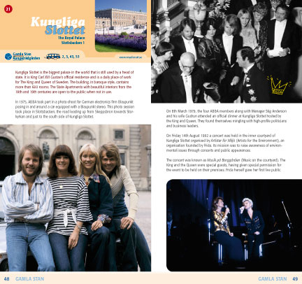 ABBA Guide to Stockholm