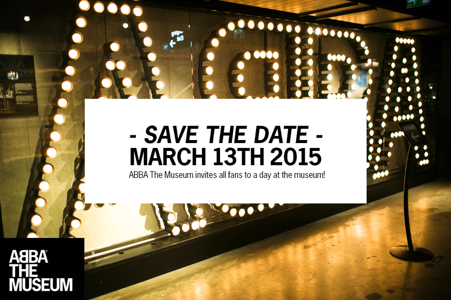 ABBA The Museum Save the Date