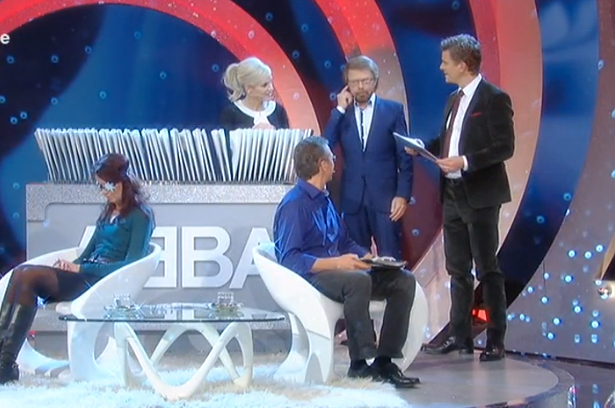 Bj�rn, Regina and Ralf on Wetten, Dass�